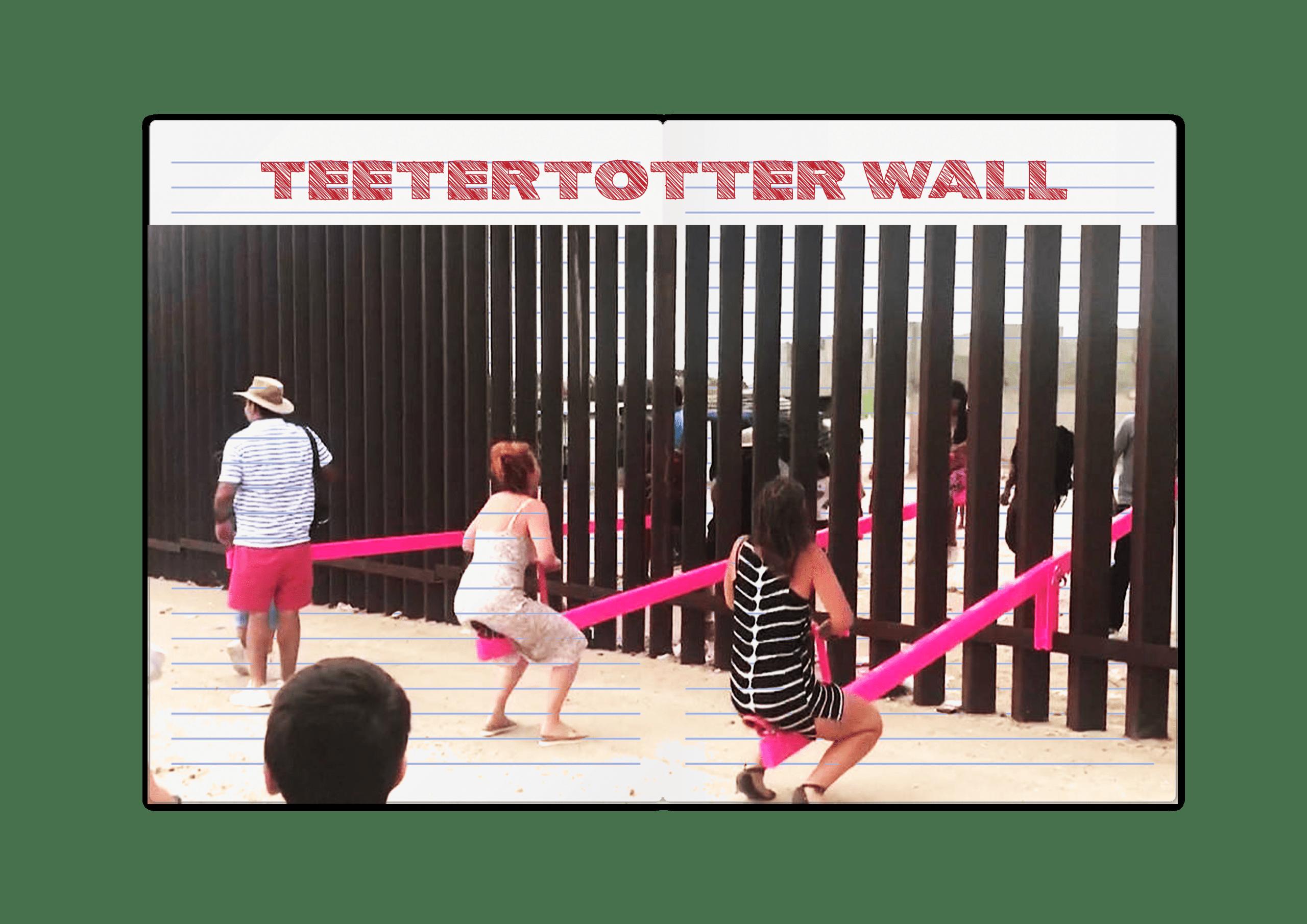 פרויקט חדש- ילדים משני צידי החומה משחקים ביחד