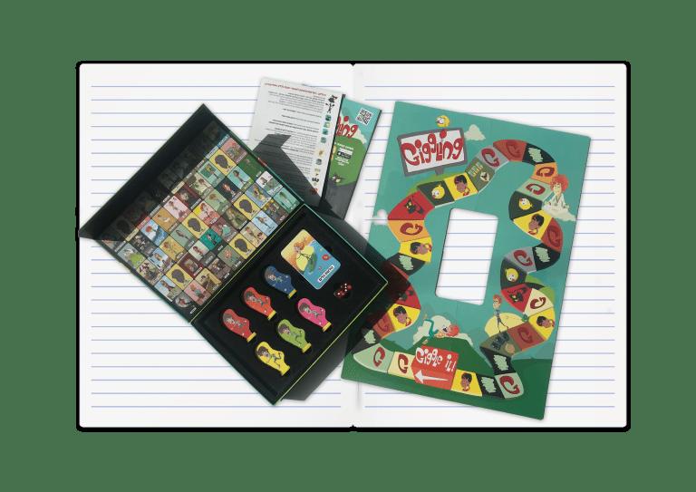 גיגלינג, משחק עם אפליקציה, משחק מומלץ שמשלב טכנולוגיה, משחק קופסא עם טלפון, ליצ'י- ילדות אנלוגית בעולם דיגיטלי
